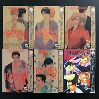 Kizuna Deluxe Edition 1,2,3,4,5,6 Kazuma Kodaka June Manga Novel Anime 6 lot Set