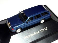 car 1/87 HERPA B66005603 MERCEDES BENZ 320 TE  S124 Facelift MET BLUE  -ver/see-