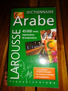 Dictionnaire français-arabe LAROUSSE NOUVEAU