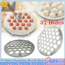 37 Holes Dumpling Mould Maker Ravioli Aluminum Mold Pelmeni Kitchen DIY Tool AU
