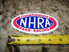 "National Hot Rod Association - 5.25"" - NHRA Racing Stickers"