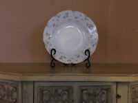 Premiere White w Floral Design Briarwood Pattern ME 212 China Replacement Bowl