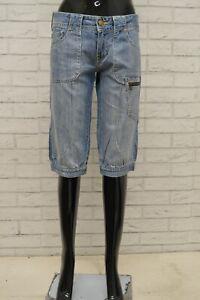Jeans Slim Straight Donna LEE LYNN L384CE08 Nero in Cotone