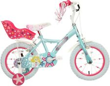 "Apollo Mermaid Kids Bike 14"" Wheels With Stabilisers Mudguards Childrens Bicycle"