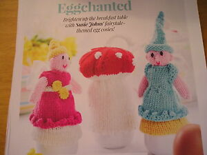 KNITTING PATTERN FOR 3 EGG COSIES.