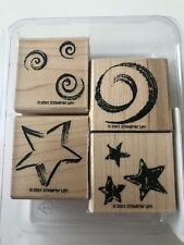 Stampin' Up Stars And Swirls Stamp Set