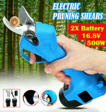 16.8V Rechargeable Cordless Electric Pruning Shear Secateur Garden Branch Cutter