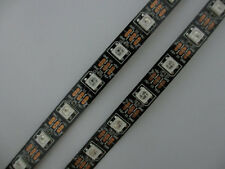 60 Leds/m WS2812B 5050 Digital RGB LED Strip Addressable - 5 Meter Roll  BLACK
