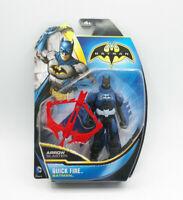 "DC Comics Quick Fire Batman Arrow Blaster 2013 6"" Figure NEW FREE SHIP"