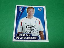 N°151 WILHELMSSON BOLTON W. MERLIN PREMIER LEAGUE FOOTBALL 2007-2008 PANINI