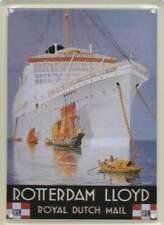Metalen Kaart/Tin-Card/Blechkarte - Rotterdan Lloyd (025)