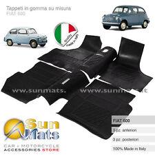 Tappeti in gomma su misura per FIAT 600 100% ITALIANI