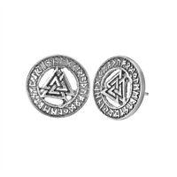 Odin Asatru Triangle Viking Earrings Geometry Symbol Norse Valknut Rune Earring