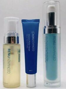 ASEA RENU ADVANCED 3-Step Skin Care Kit Expiration Date: 06/2021