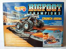 RARE VINTAGE 1991 HOT WHEELS BIG FOOT CHAMPIONS CRUNCH ARENA MATTEL !