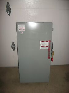 Eaton Double Throw 200 amp Safety Switch DT224URK-NPS