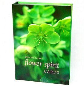 Flower Spirit Cards By Melanie Eclare Nature Spirit Divination Cards 2004