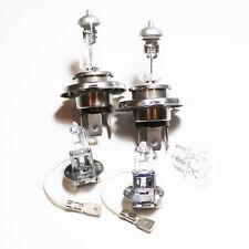 Peugeot Boxer 100w Clear Xenon HID High/Low/Fog/Side Headlight Bulbs Set