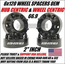 6x120 Wheel Spacers 2 Inch Hub Centric Chevy Colorado GMC Canyon Acadia SRX XT5