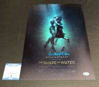GUILLERMO DEL TORO SIGNED SHAPE OF WATER 12X18 POSTER AUTOGRAPH BECKETT COA 7