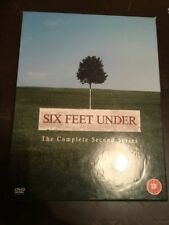 SIX FEET UNDER The Complete Second Season VGC 5 DVDs R2
