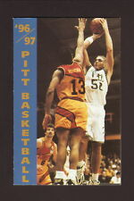 Pittsburgh Panthers--1996-97 Basketball Pocket Schedule--TCI