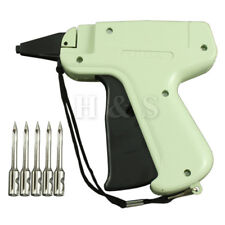 Hi Quality Tagging Gun +5 Steel Needle +1000 Kimble Tag Price Label System Barbs