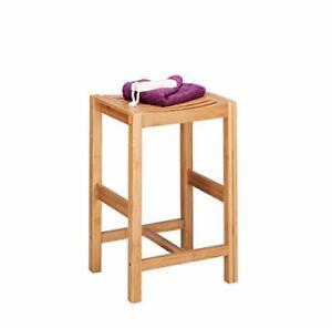 Zeller 13576 Stool (35 x 30 x 55cm), Bamboo