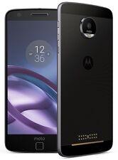 WIE NEU: Lenovo Motorola Moto Z 32GB schwarz Lunar-Grey - OVP, Rechnung, Extras