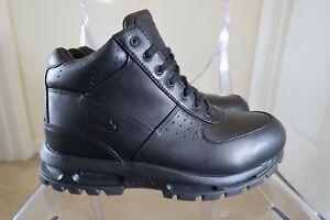 Nike Air Max Goadome ACG Boots Triple Black Waterproof - Size 12 -865031-009