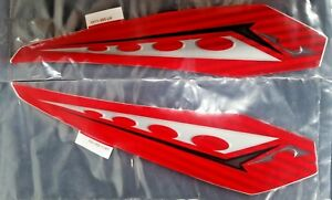 NEW ARCTIC CAT RED Decal Graphic Rear Fender Right AND Left 06 DVX400 0411-994/5