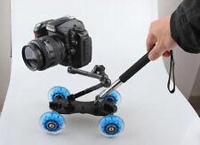 Chariot+Magicam+Monopod vidéo pr Nikon D7100 D90 D800 Canon 5DII 5DIII 650D 700D