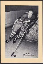 1945-1964 Beehive Group II 2 Hockey Bob Bailey Short Print Toronto Maple Leafs