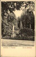 Auerbach an der Bergstraße alte AK ~1910/20 Partie im Fürstenlager Springbrunnen