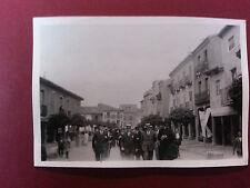 SAHAGUN (León). Año 1927. Fotografia antigua. Tamaño 88 x 59 mm.