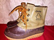 CABELA'S Canada Mukluks Chukka Hunting Rain Boots Galoshes Boys Toddler Size 12