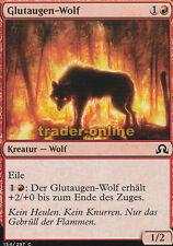 4x Glutaugen-Wolf (Ember-Eye Wolf) Shadows over Innistrad Magic