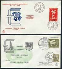 EUROPE - EUROPA - IDEES EUROPEENNES / LOT DE 10 LETTRES DIFFERENTES (ref 1522)