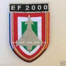 Patch N12 Distintivo velivolo EF-2000 Alenia 1998/99  Toppa patch senza velcro