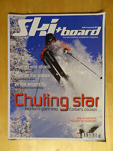 SKI & BOARD MAGAZINE ISSUE 156 FEB MARCH 2007 SKIING SNOWBOARD BOOK BACK ISSUE