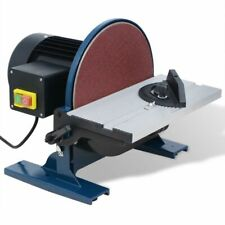 550W 254mm Électrique Ponceuse à Bande Disque Machine à Polir Ponceuse Ponçage