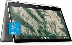 HP Chromebook x360 14-inch HD Touchscreen Laptop, Intel Celeron N4000, 4 GB RAM,