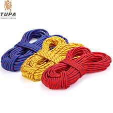 10M Rock Climbing Rope Outdoor Safty Mountain Rescue Escape Rappelling Abseiling