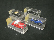 LOT OF 4 ASSORTED REVELL PRALINE MINIATURE CARS **