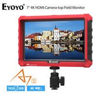 Eyoyo A7S 7inch 1920x1200 IPS 4K HDMI DSLR Camera Field Monitor HD for SONY A7S