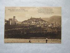 CPA : ASSISI - Panorama della Citià con veduta delle Chiese e del Convento di S.