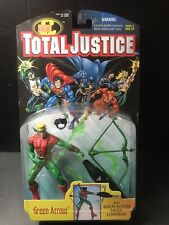 Kenner DC Total Justice Green Arrow with Multi-Action Mega Longbow MOC