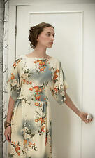 NWOT Anthropologie Jonquil Sky Silk Dress Size 0 2