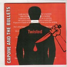 (HB683) Capone & The Bullets, Twisted / Girl - DJ CD