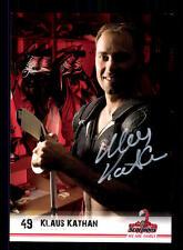 Klaus Kathan Autogrammkarte Hannover Scorpions 2008-09 Original Sign+A 137038